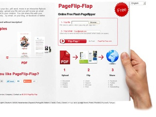 pageflip Lav flash katalog online med Pageflip flap