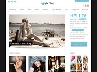 Aight shop Flotte Wordpress webshop løsninger