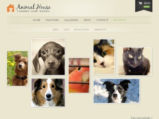 Animal House Flotte Wordpress webshop løsninger